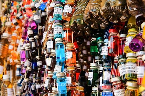 Assunto: Perfumes artesanais e garrafadas no Mercado Ver-o-Peso / Local: Belém - Pará (PA) - Brasil / Data: 03/2014