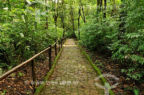 Assunto: Trilha da Cutia no Parque Natural Municipal Salto do Sucuriú / Local: Costa Rica - Mato Grosso do Sul (MS) - Brasil / Data: 02/2014