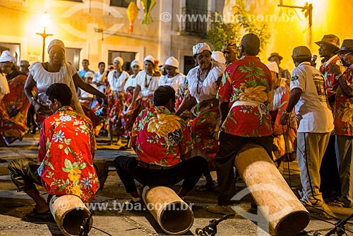 Assunto: Apresentação de tambor de crioula / Local: São Luís - Maranhão (MA) - Brasil / Data: 06/2013