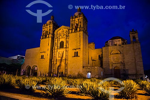 Assunto: Igreja de Santo Domingo de Guzmán (1555) / Local: Oaxaca - México - América do Norte / Data: 10/2013