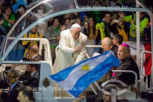 Assunto: Papa Francisco na Praia de Copacabana durante Jornada Mundial da Juventude (JMJ) / Local: Copacabana - Rio de Janeiro (RJ) - Brasil / Data: 07/2013