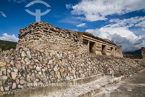 Assunto: Ruínas pré-colombianas / Local: San Pablo Villa de Mitla - Oaxaca - México - América do Norte / Data: 10/2013