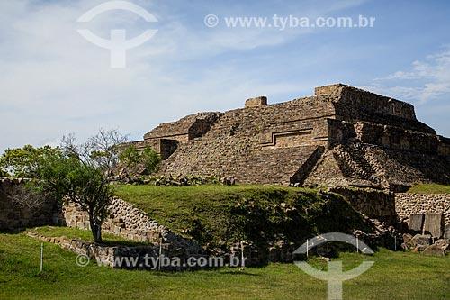 Assunto: Monte Albán - uma das mais antigas cidades pré-colombianas, tendo sido capital dos Zapotecas / Local: Santa Cruz Xoxocotlán - Oaxaca - México - América do Norte / Data: 11/2013