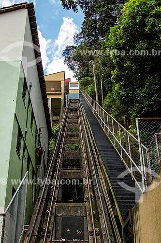 Assunto: Plano inclinado da Favela Santa Marta / Local: Botafogo - Rio de Janeiro (RJ) - Brasil / Data: 08/2012