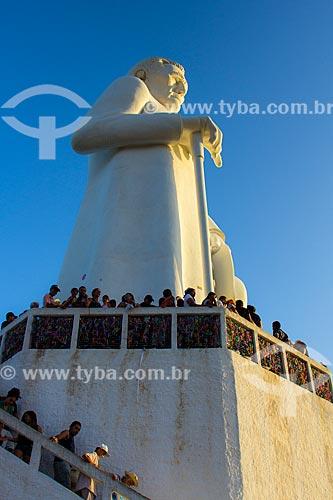 Assunto: Estátua de Padre Cícero (1969) na Colina do Horto / Local: Juazeiro do Norte - Ceará (CE) - Brasil / Data: 10/2012
