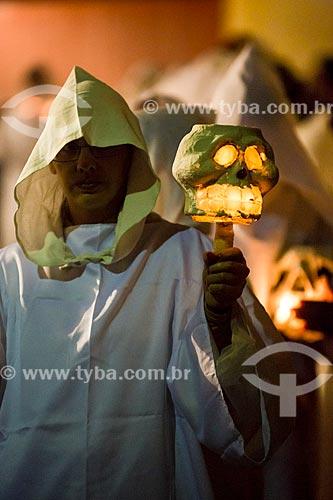 Assunto: Procissão das almas penadas / Local: Mariana - Minas Gerais (MG) - Brasil / Data: 03/2013