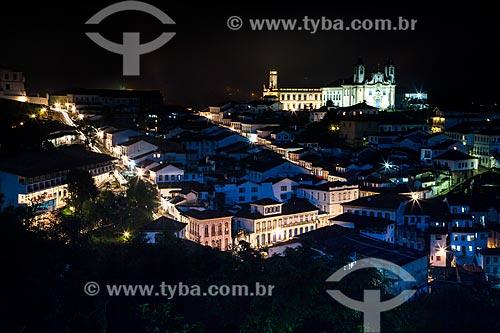 Assunto: Vista geral da cidade de Ouro Preto / Local: Ouro Preto - Minas Gerais (MG) - Brasil / Data: 03/2013