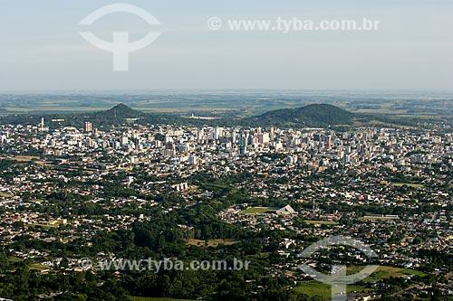 Assunto: Vista geral da cidade de Santa Maria / Local: Santa Maria - Rio Grande do Sul (RS) - Brasil / Data: 01/2013