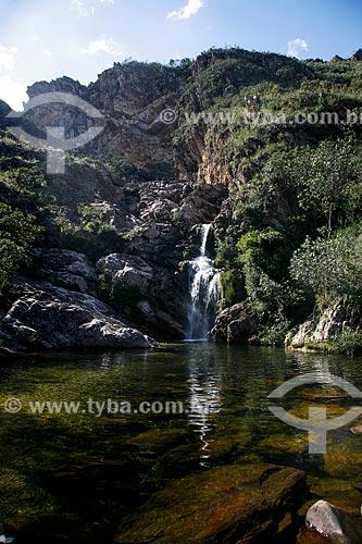 Assunto: Cachoeira do Gavião no Parque Nacional da Serra do Cipó / Local: Santana do Riacho - Minas Gerais (MG) - Brasil / Data: 06/2009