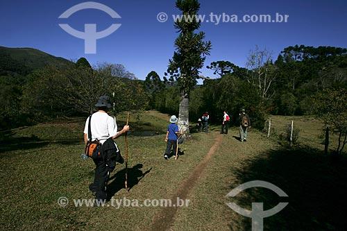 Assunto: Trekking no Parque Estadual da Serra do Papagaio / Local: Aiuruoca - Minas Gerais (MG) - Brasil / Data: 07/2008