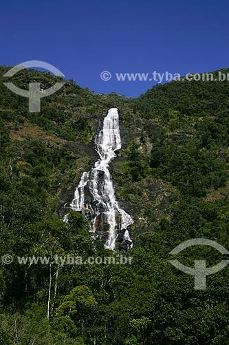 Assunto: Cachoeira do Fundo no Parque Estadual da Serra do Papagaio / Local: Aiuruoca - Minas Gerais (MG) - Brasil / Data: 07/2008