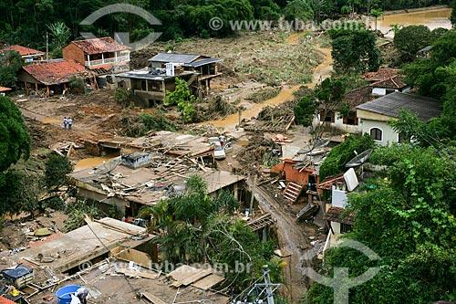 Deslizamento de terra no Vale do Cuiabá  - Petrópolis - Rio de Janeiro - Brasil