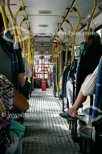 Interior de ônibus no Rio de Janeiro  - Rio de Janeiro - Rio de Janeiro - Brasil