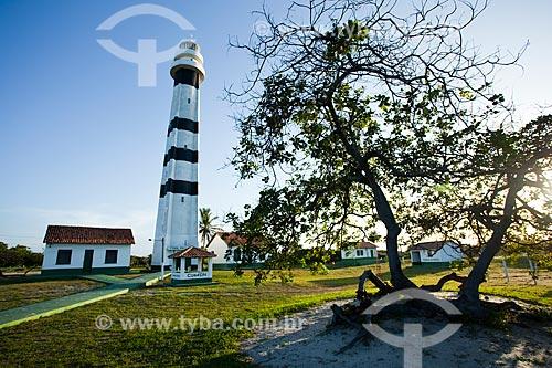 Assunto: Farol Preguiças também chamado Farol de Mandacarú - Área da Marinha do Brasil / Local: Barreirinhas - Maranhão (MA) - Brasil / Data: 06/2013