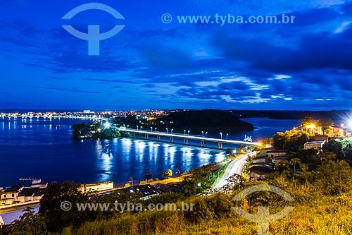 Assunto: Baía do Pontal vista do mirante da Conquista / Local: Ilhéus - Bahia (BA) - Brasil / Data: 02/2014