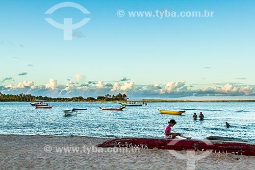 Assunto: Praia da Coroinha / Local: Itacaré - Bahia (BA) - Brasil / Data: 02/2014