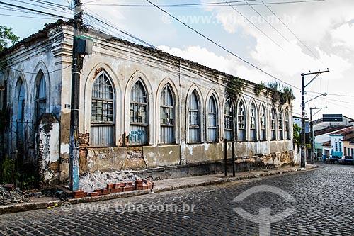Assunto: Antiga casa colonial na Cidade Alta, centro histórico de Camamu / Local: Camamu - Bahia (BA) - Brasil / Data: 02/2014