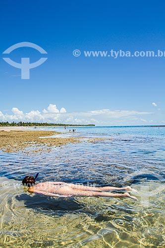 Assunto: Mergulho na Praia de Taipús de Fora, na Península de Maraú / Local: Maraú - Bahia (BA) - Brasil / Data: 02/2014