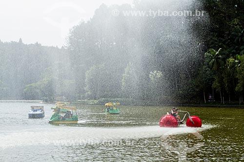 Assunto: Lago no Parque Malwee / Local: Jaraguá do Sul - Santa Catarina (SC) - Brasil / Data: 03/2014