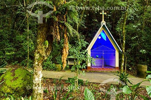 Assunto: Capela em homenagem ao Frei Zeno Wallbroehl, no Parque Ecológico do Santuário Nossa Senhora de Angelina / Local: Angelina - Santa Catarina (SC) - Brasil / Data: 04/2014