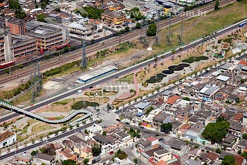 Assunto: Vista aérea do Parque Madureira / Local: Madureira - Rio de Janeiro (RJ) - Brasil / Data: 02/2014