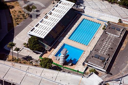 Assunto: Parque Aquático Júlio Delamare no Complexo Esportivo do Maracanã / Local: Maracanã - Rio de Janeiro (RJ) - Brasil / Data: 02/2014