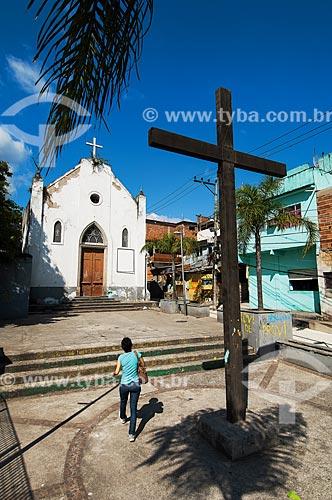 Assunto: Vista da Igreja Nossa Senhora da Penha / Local: Gamboa - Rio de Janeiro (RJ) - Brasil / Data: 11/2011