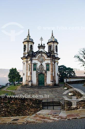 Assunto: Fachada da Igreja São Francisco de Assis / Local: Ouro Preto - Minas Gerais (MG) - Brasil / Data: 06/2012
