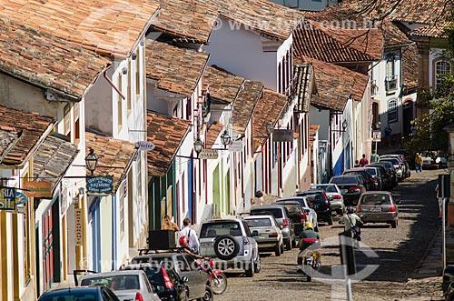 Assunto: Vista de casarões coloniais / Local: Ouro Preto - Minas Gerais (MG) - Brasil / Data: 06/2012