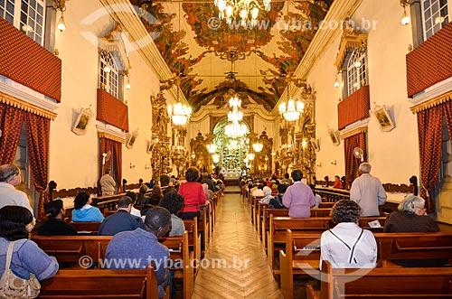 Assunto: Vista interna da Capela de Santo Antônio / Local: São João Del Rei - Minas Gerais (MG) - Brasil / Data: 06/2012