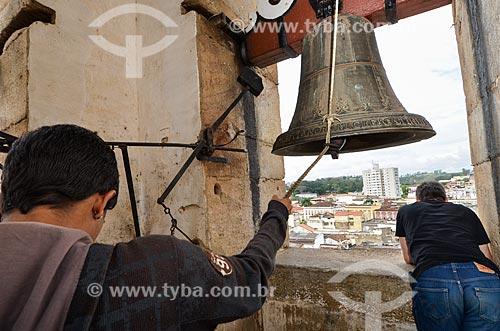 Assunto: Sineiros na Catedral Basílica Nossa Senhora do Pilar  / Local: São João Del Rei - Minas Gerais (MG) - Brasil / Data: 06/2012