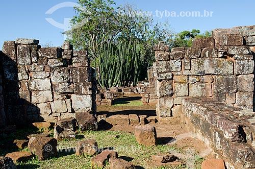 Assunto: Sítio Arqueológico de São Miguel Arcanjo / Local: São Miguel das Missões - Rio Grande do Sul (RS) - Brasil / Data: 06/2012