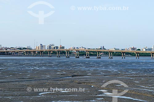 Assunto: Ponte Governador José Sarney também conhecida como Ponte do São Francisco / Local: São Luís - Maranhão (MA) - Brasil / Data: 07/2012