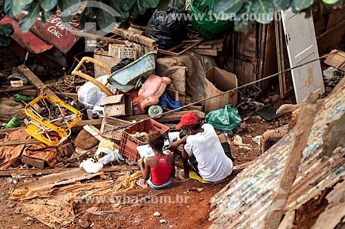 Assunto: Deslizamento de terra no Morro do Fogueteiro / Local: Catumbi - Rio de Janeiro (RJ) - Brasil / Data: 07/2013