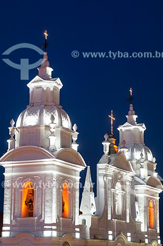 Assunto: Torres da Igreja Catedral de Nossa Senhora da Graça   / Local: Belém - Pará (PA) - Brasil / Data: 10/2010