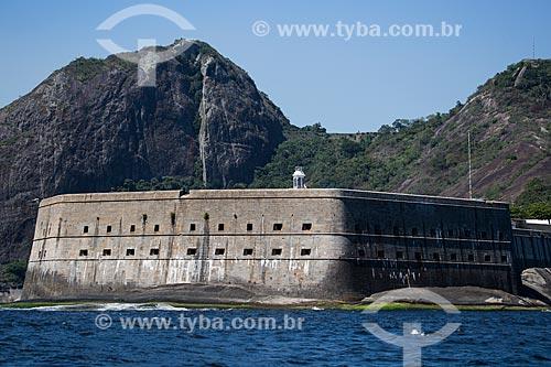 Assunto: Vista da Fortaleza de Santa Cruz (1612) / Local: Niterói - Rio de Janeiro (RJ) - Brasil / Data: 03/2014