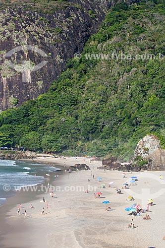 Assunto: Banhistas no Parque Natural Municipal da Prainha / Local: Recreio dos Bandeirantes - Rio de Janeiro (RJ) - Brasil / Data: 03/2014