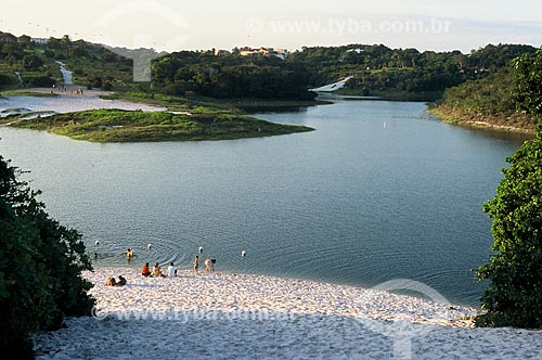 Assunto: Vista da Lagoa do Abaeté no Parque Metropolitano Lagoas e Dunas do Abaeté / Local: Itapuã - Salvador - Bahia (BA) - Brasil / Data: 07/2008
