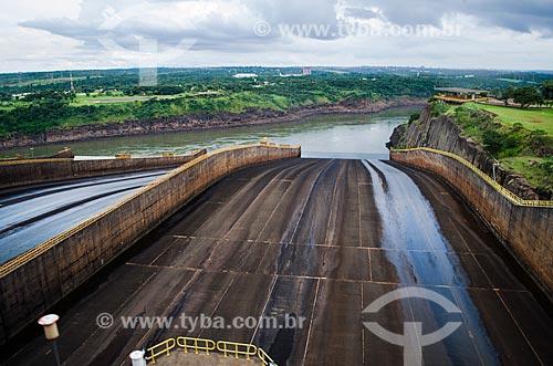 Assunto: Usina Hidrelétrica de Itaipu / Local: Foz do Iguaçu - Paraná (PR) - Brasil / Data: 04/2014