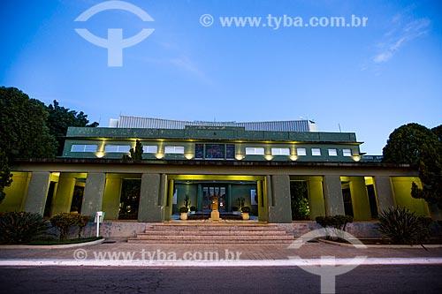 Assunto: Palácio das Esmeraldas (1933) - sede do Governo do Estado / Local: Goiânia - Goiás (GO) - Brasil / Data: 05/2014