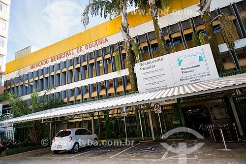 Assunto: Fachada do Mercado Municipal e do Restaurante Popular de Goiânia / Local: Goiânia - Goiás (GO) - Brasil / Data: 05/2014