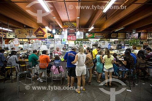 Assunto: Lanchonetes no Mercado Municipal de Goiânia / Local: Goiânia - Goiás (GO) - Brasil / Data: 05/2014