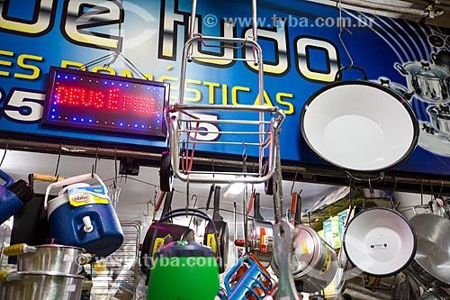 Assunto: Utensílios de cozinha à venda no Mercado Municipal de Goiânia / Local: Goiânia - Goiás (GO) - Brasil / Data: 05/2014