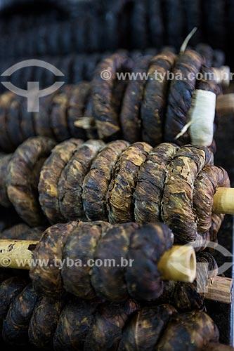 Assunto: Fumo de rolo à venda no Mercado Municipal de Goiânia / Local: Goiânia - Goiás (GO) - Brasil / Data: 05/2014