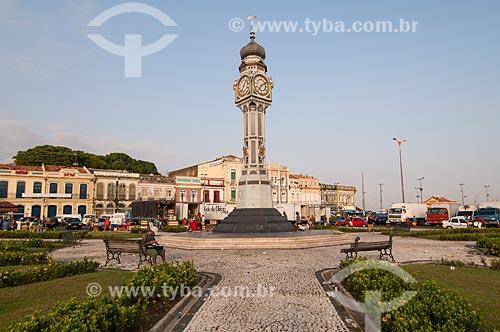 Assunto: Praça Siqueira Campos - Homenagem para um dos dezoito revolucionários paraenses heróis do Forte de Copacabana  / Local: Belém - Pará (PA) - Brasil / Data: 10/2010
