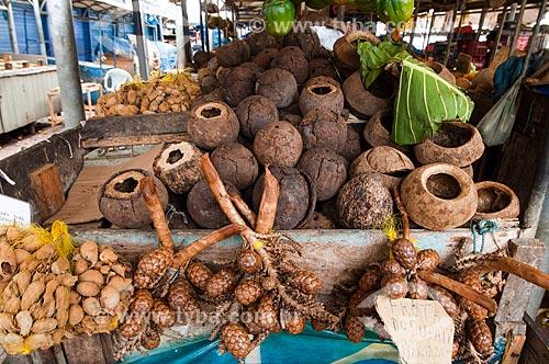 Assunto: Jupati vendido no Mercado Ver-o-Peso / Local: Belém - Pará (PA) - Brasil / Data: 10/2010