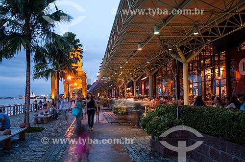 Assunto: Armazém 2 da Estação das Docas - antigo Porto de Belém também conhecido como Boulevard da Gastronomia / Local: Belém - Pará (PA) - Brasil / Data: 10/2010