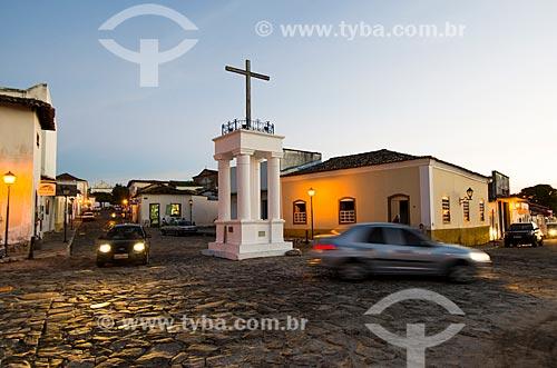 Assunto: Cruz do Anhanguera / Local: Goiás - Goiás (GO) - Brasil / Data: 05/2012