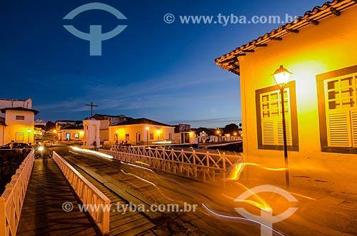 Assunto: Vista noturna do Museu Casa de Coralina / Local: Goiás - Goias (GO) - Brasil / Data: 05/2012