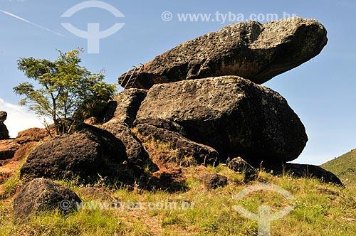 Assunto: Pedra Balão / Local: Poços de Caldas - Minas Gerais (MG) - Brasil / Data: 04/2014